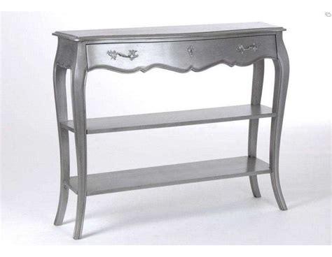 amadeus console meuble argent baroque console baroque gris