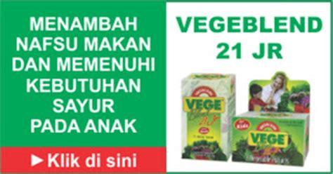 Suplemen Vegeblend Suplemen Anak Susah Makan Webbudi
