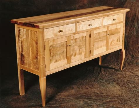 Kitchen Cabinets China Sideboards Amp Credenzas Ernst Curly Maple Sideboard