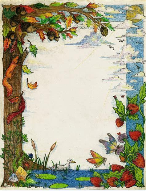 art design nature nature border by creevesabudd on deviantart