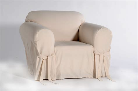 duck cotton slipcovers classic slipcovers cotton duck one piece chair slipcover