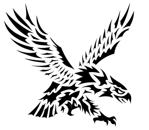 eagle tattoo tribal art eagle tattoos designs ideas and meaning tattoos for you