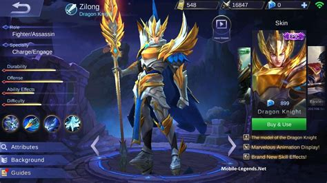 tips gear mobile legend zilong gear guide and tips detailed 2019 mobile legends