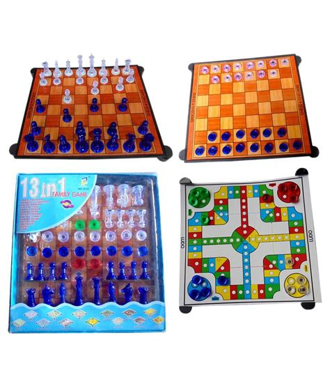 Magnetic Board Chess Mainan Anak Board Best Product arthr magnetic chess board family 13 in 1 buy at best price on snapdeal