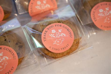 Cookies Handmade - warm their cockles at your autumn wedding
