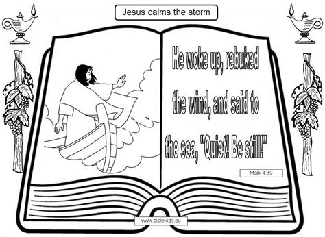 free bible coloring pages jesus calms the jesus calms the calming the builders