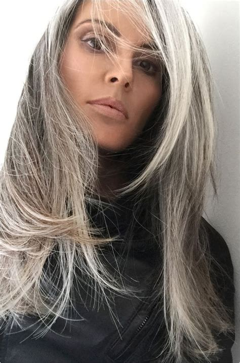 turning gray hair into blond annika von holdt s heartfelt article on going gray gray