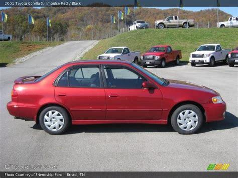 2001 Toyota Corolla S 2001 Toyota Corolla S In Impulse Photo No 38980477