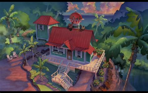 Stitch House ranking disney 32 lilo stitch 2002 b
