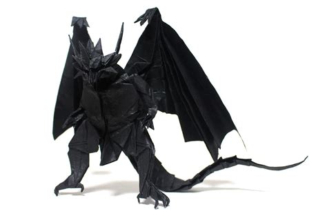 Origami Bahamut - 23 more excellent origami models from