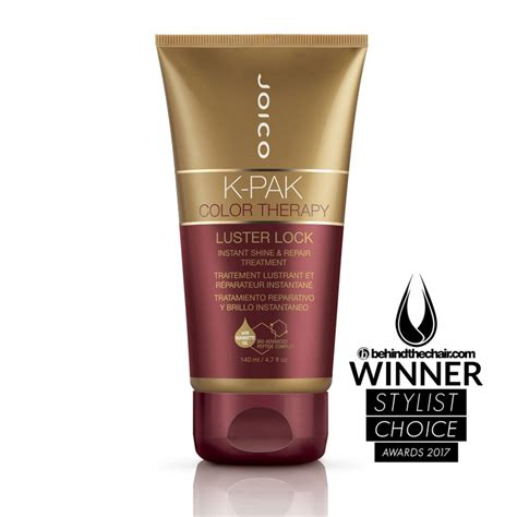 joico k pak color therapy shoo joico k pak color therapy luster lock 140ml