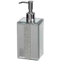bathroom soap dispenser mirrored diamante soap dispenser home bathroom b m