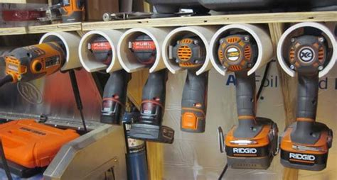 Wall Hanging Charging Station by 14 Power Tool Storage Ideas So You Never Lose Them Again