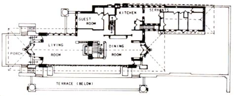 Robie House Floor Plan by Wright On The Web Robie House