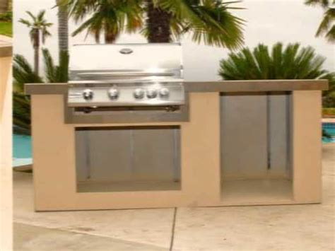 premade island rcs pre made island complete with 32 quot grill fridge and doors