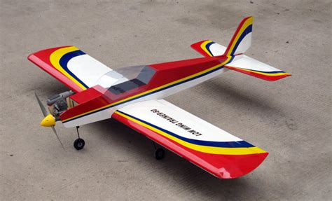 Rc Plane Trainer nitromodels low wing trainer 60 nitro remote
