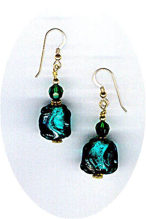 Handmade Beaded Earrings Designs - handmade lwork bead earrings by bead wizardry designs