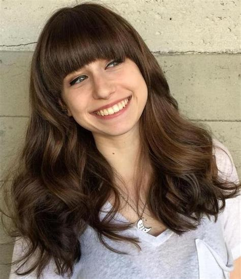 Hairstyles With Bangs For Thick Hair by 40 Refreshing Variations Of Bangs For Faces