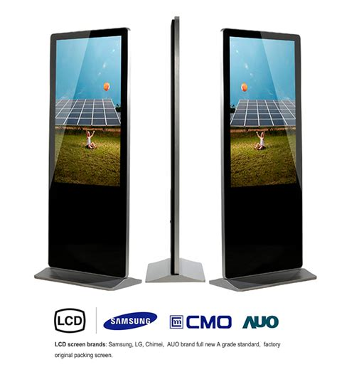 Digital Signage Murah 50 Inch Android System Wifi Lan Hdmi 55 quot android capacitive touch digital signage