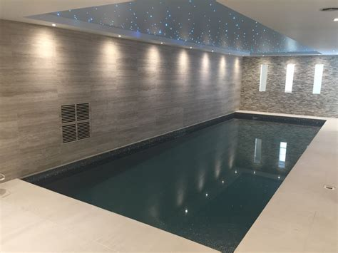 basement swimming pool and steam room