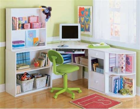 Children Corner Desk Corner Desk Shelves For The Home