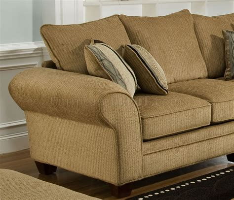 suede loveseat beige suede fabric modern casual sofa loveseat set w options