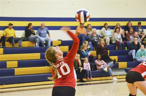 backyard volleyball backyard brawl ike volleyball edges youngsville in 4 sets