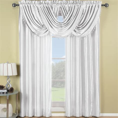 108 Inch Curtains Drapes Soho Waterfall 63 Quot Length Window Treatment