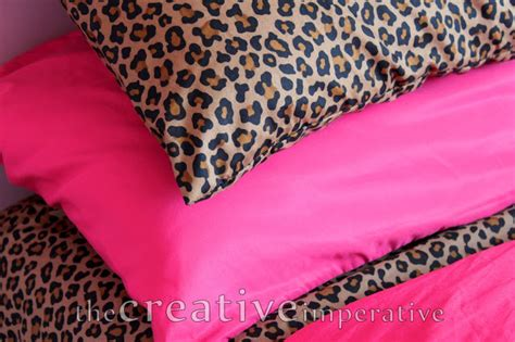 pink cheetah print bedding the creative imperative some girly decor