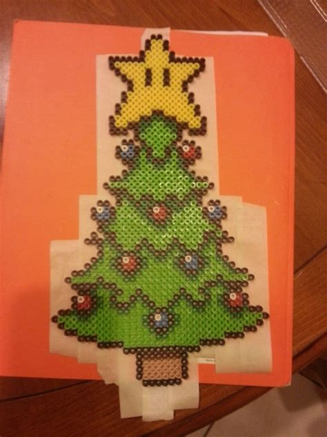 perler christmas tree by thejuly4 on deviantart