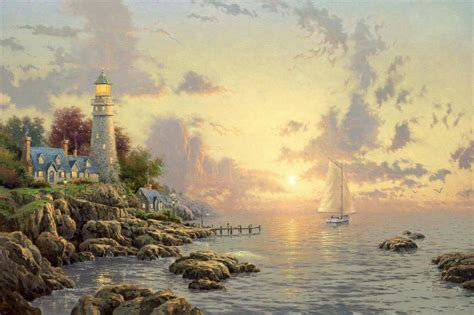 who is the painter of light the painter of light kinkade mwindite