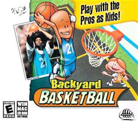 backyard sports video games backyard basketball pc ign