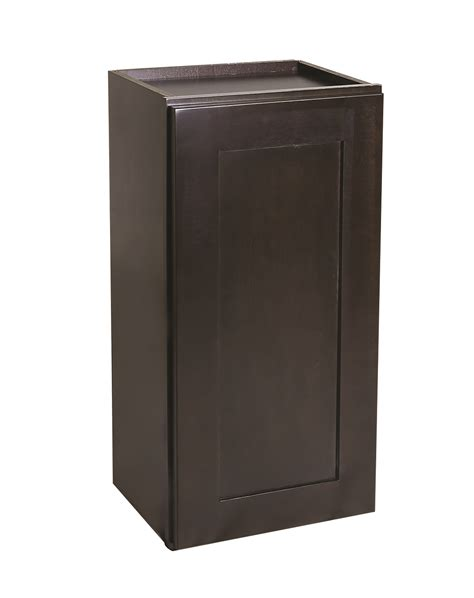 18 wall cabinets brookings 18 quot wall cabinet espresso shaker 562298