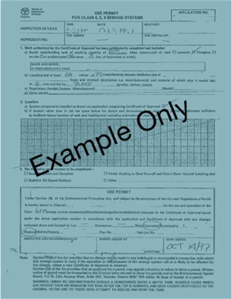 Ontario Property Records Ottawa Septic System Office Bureau Des Syst 232 Mes