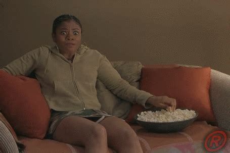 black couch xxx eating popcorn gifs find share on giphy