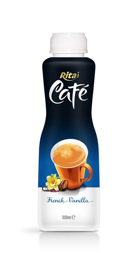 Label Detox Tea Coffee Beverages by 350ml Pp Bottle Vanilla Coffee Label