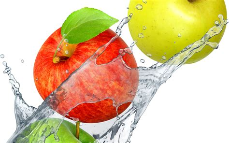 imagenes hd frutas fondo de pantalla frutas agua salpicadura hd