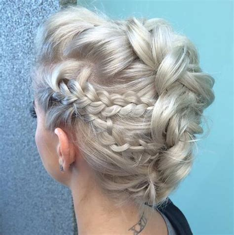 braided mohawk updo 30 ultra modern braided mohawks of this season