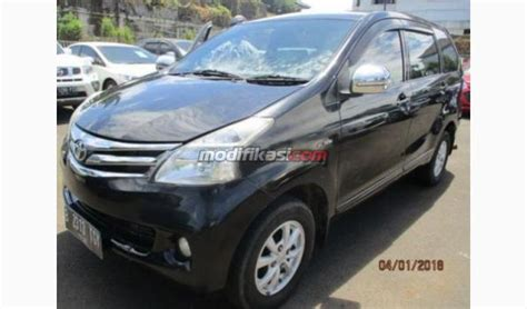 Toyota Avanza G Mt 2014 Hitam 2014 toyota avanza g mt