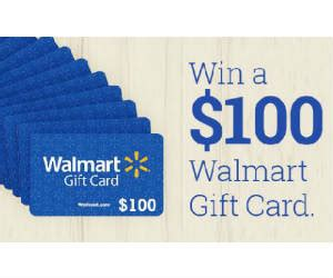 Get Free Walmart Gift Card Codes - win 1 of 100 100 walmart gift cards free sweepstakes contests giveaways
