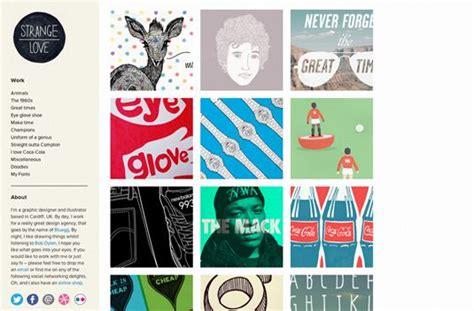 graphic design portfolio layout exles outstanding exle of design portfolios graphics for