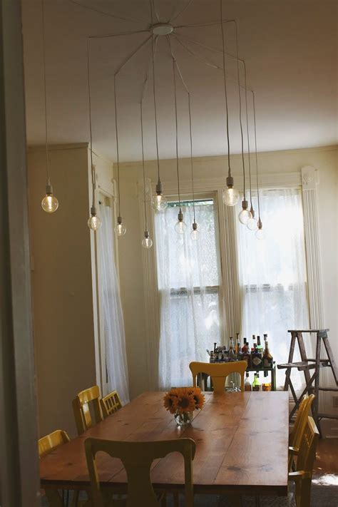 92 Dining Room Lighting Diy Diy Pendant Light Diy Dining Room Light