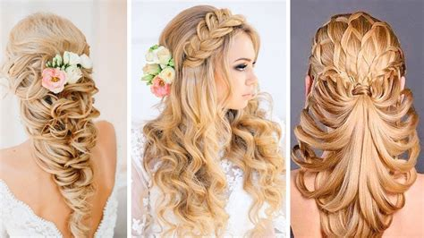 hairstyles 2017 compilation 91 hair designs for girls prom hairstyle for long hair