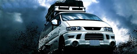 japanese size queens mitsubishi delica space gear