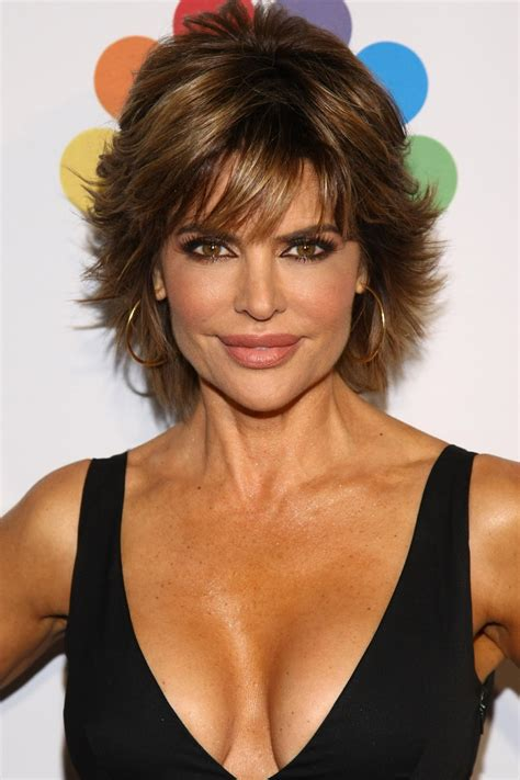 lisa rena long hair celebrity hairstyle haircut ideas lisa rinna short