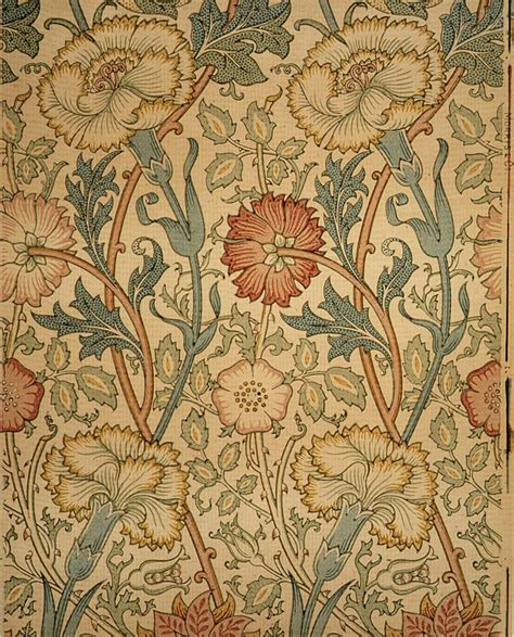 Arts And Crafts Wall Paper - artists william morris wallpaper textiles
