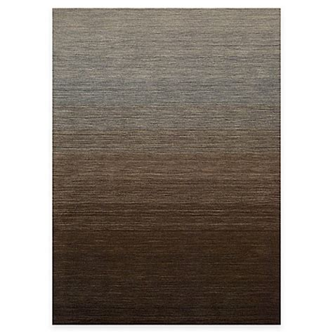 kenneth cole rugs kenneth cole reaction home area rug in gradient smoke bed bath beyond