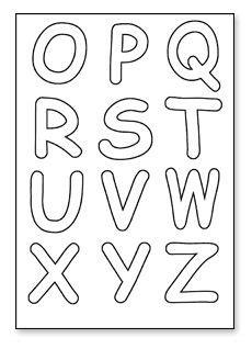 alphabet templates printable alphabet letters