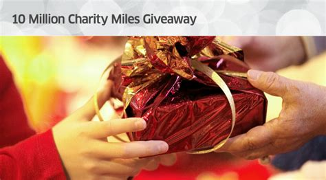 United Million Mile Giveaway - united airlines 10 million charity miles giveaway michael w travels