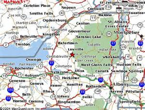 Adirondack State Park Map by Maps And Directions